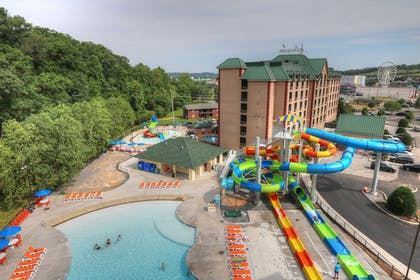 View from Hotel | Country Cascades Waterpark Resort