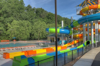 Waterslide | Country Cascades Waterpark Resort
