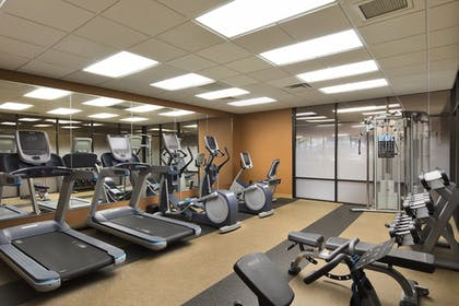 Fitness Facility | University Plaza Hotel and Convention Center Springfield