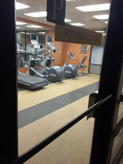 Fitness Facility   University Plaza Hotel and Convention Center Springfield