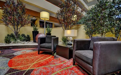 Lobby Sitting Area | University Plaza Hotel and Convention Center Springfield
