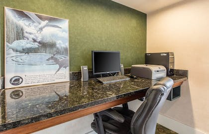 Business Center   Quality Inn & Suites Conference Center
