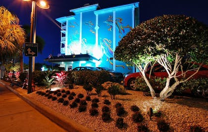 Front of Property - Evening/Night | Clearwater Beach Hotel