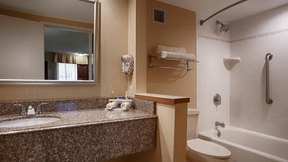 Bathroom | Best Western Plus Galleria Inn & Suites