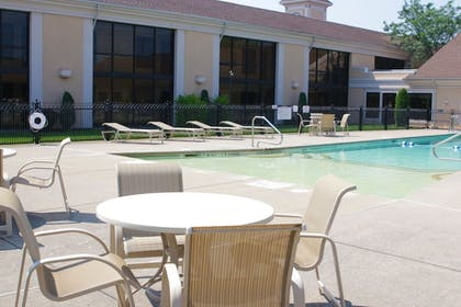 Outdoor Pool | Best Western Plus Galleria Inn & Suites