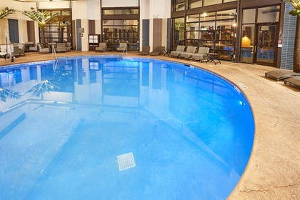 Indoor/Outdoor Pool | LivINN Hotel Cincinnati / Sharonville Convention Center