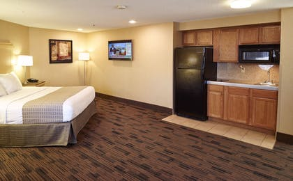 In-Room Kitchenette | LivINN Hotel Cincinnati / Sharonville Convention Center