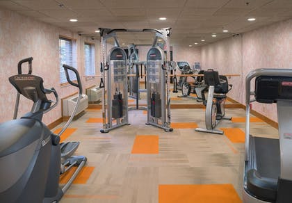 Fitness Facility | LivINN Hotel Cincinnati / Sharonville Convention Center