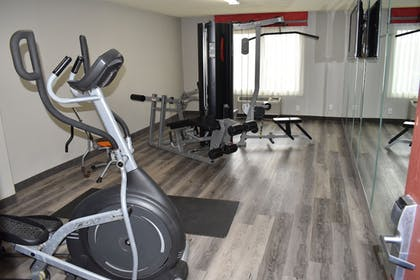 Fitness Facility | SureStay Plus Hotel by Best Western San Antonio North