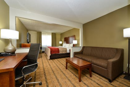 Living Area | Comfort Inn & Suites