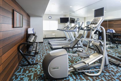 Fitness Facility | Fairfield Inn & Suites Bryan College Station