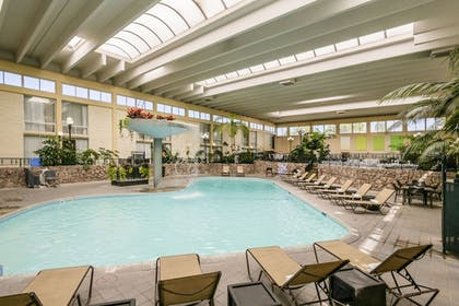 Indoor Pool | Wyndham Garden Fresno Yosemite Airport