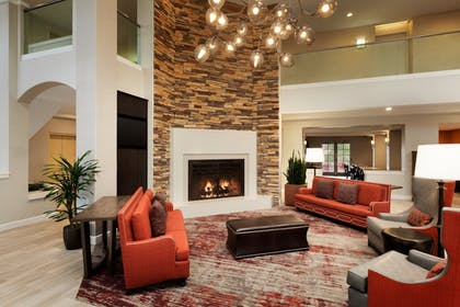Lobby Sitting Area | Embassy Suites by Hilton Temecula Valley Wine Country