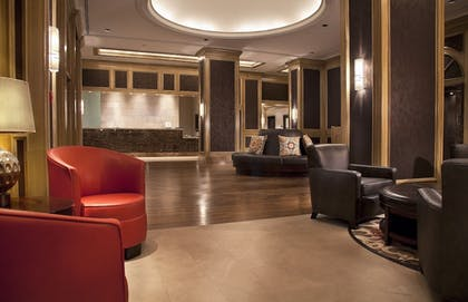 Lobby Sitting Area | DoubleTree Suites by Hilton Austin