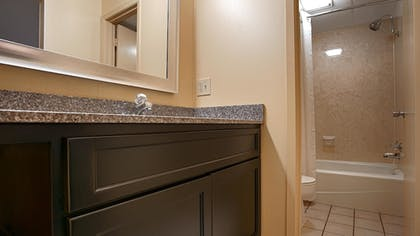 Bathroom | Best Western Plaza Inn