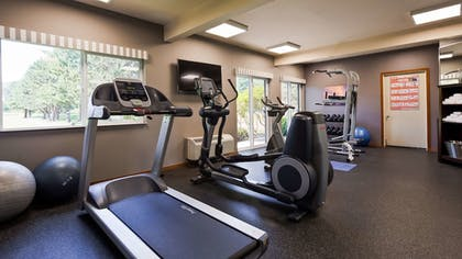 Fitness Facility | Best Western Plus Plaza by the Green