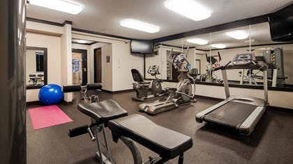 Fitness Facility | Best Western Davison Inn