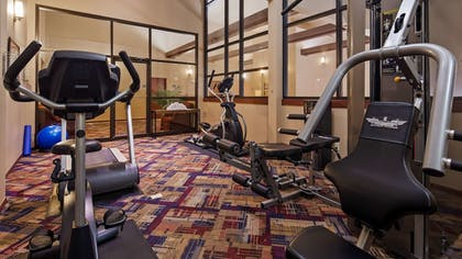 Fitness Facility | Best Western West Towne Suites