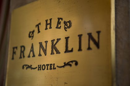 Hotel Entrance | The Franklin Hotel
