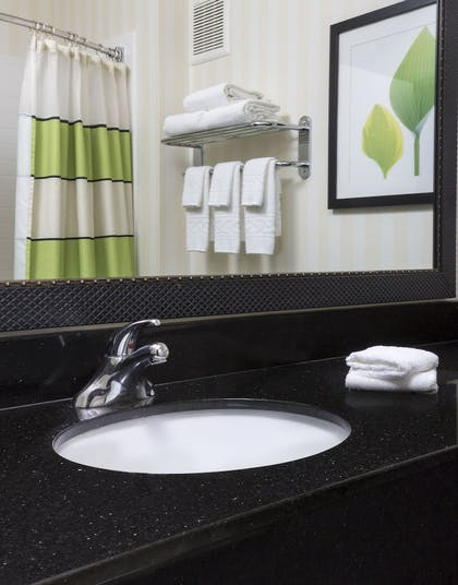 Bathroom Sink | Fairfield Inn & Suites Joliet North/Plainfield