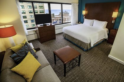 | Studio, 1 King Bed with Sofa bed, Lake View | Residence Inn by Marriott Chicago Downtown Magnificent Mile