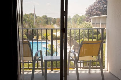 Balcony View | Best Western At Historic Concord