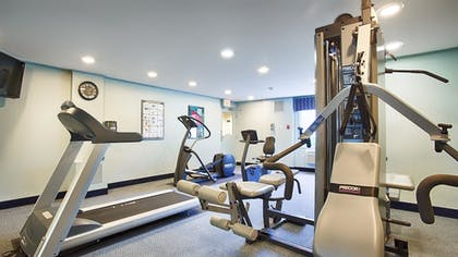 Fitness Facility | Best Western At Historic Concord