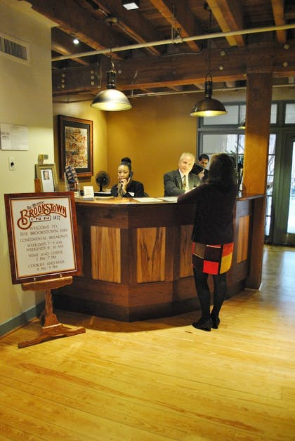 Check-in/Check-out Kiosk | The Historic Brookstown Inn