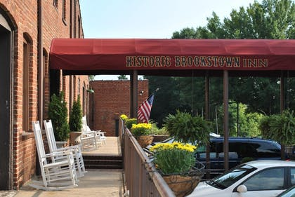 Hotel Entrance | The Historic Brookstown Inn