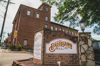 Front of Property | The Historic Brookstown Inn