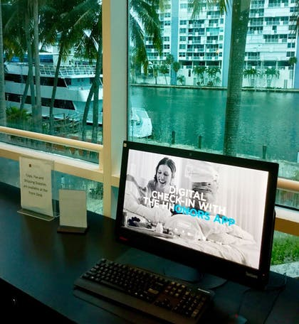 Business Center | GALLERYone - a DoubleTree Suites by Hilton Hotel