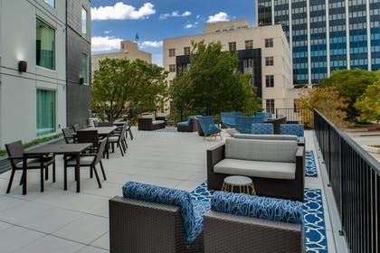 Terrace/Patio | Fairfield Inn & Suites Fort Worth Downtown/Convention Center