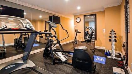 Fitness Facility | Best Western Plus Airport Plaza