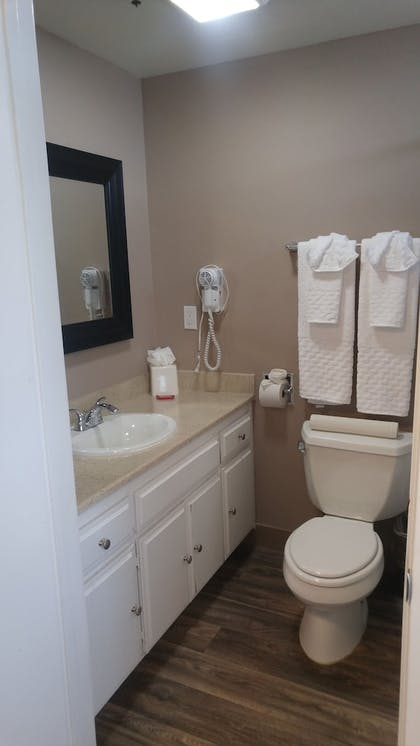 Bathroom | SureStay Plus Hotel by Best Western El Cajon