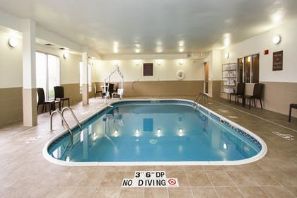 Indoor Pool | Comfort Suites University