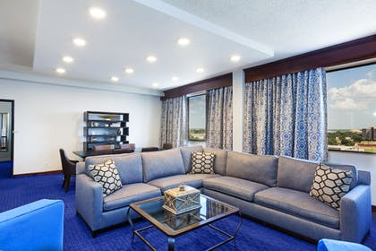 Living Area | Hilton Waco