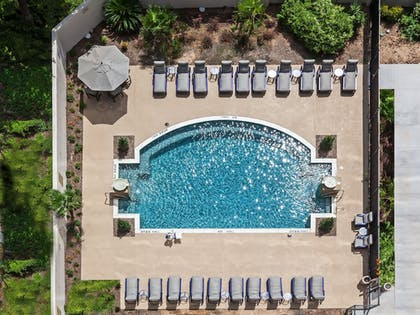 Outdoor Pool | Hilton Waco
