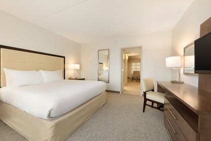 | 1 King 2 Queen Larger Two Bedroom Suite | Embassy Suites by Hilton Milwaukee Brookfield