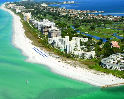 Aerial View | The Resort at Longboat Key Club