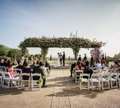 Outdoor Wedding Area | Chaminade Resort & Spa