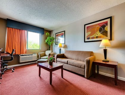 Living Area | Orangewood Inn & Suites Midtown