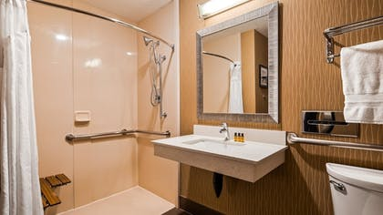 Bathroom | Best Western Plus Portland Airport Hotel & Suites