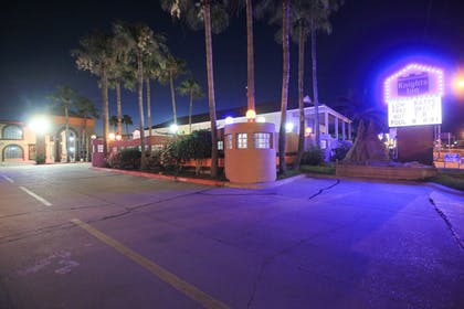 Hotel Front - Evening/Night | South Padre Island Inn