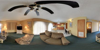 Living Area | South Padre Island Inn
