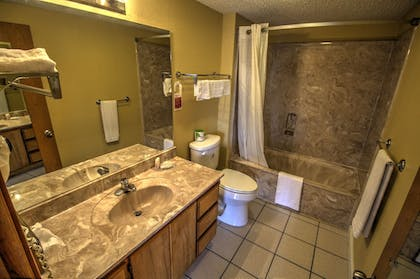 Bathroom | South Padre Island Inn