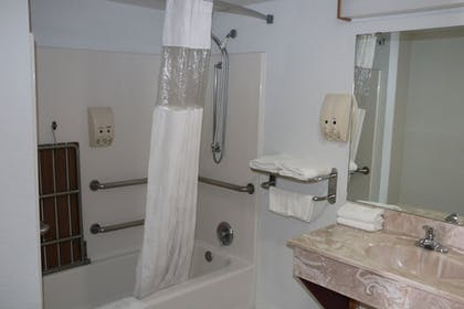 Bathroom Shower | South Padre Island Inn