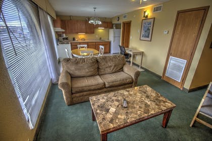 Living Room | South Padre Island Inn