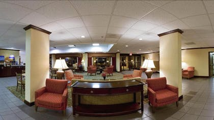 Lobby Sitting Area | Holiday Inn Express Atlanta W/ I-20/ Douglasville