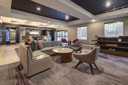Lobby Sitting Area | Courtyard by Marriott Raleigh Crabtree Valley