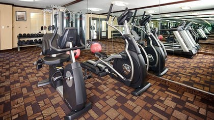 Fitness Facility | Best Western Plus Addison/Dallas Hotel